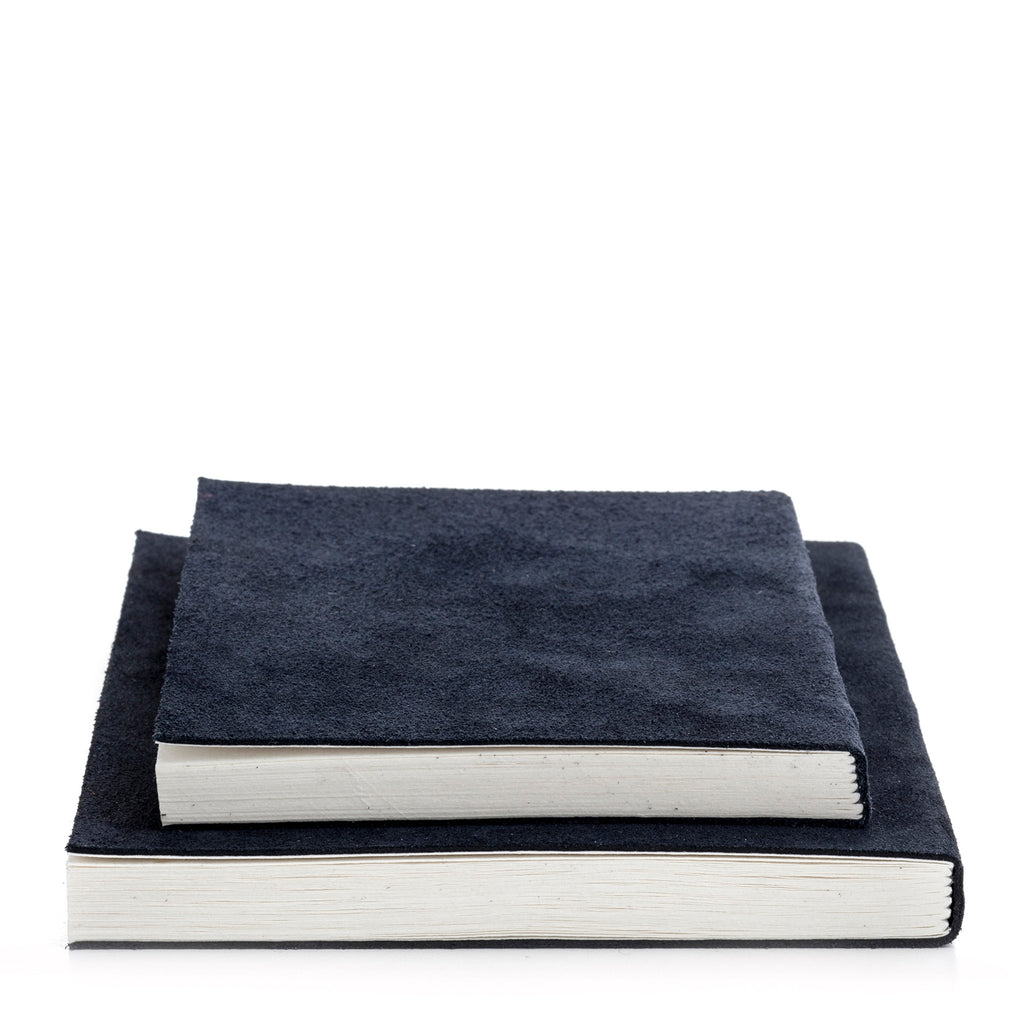 nordstjerne suede notebook blue, small