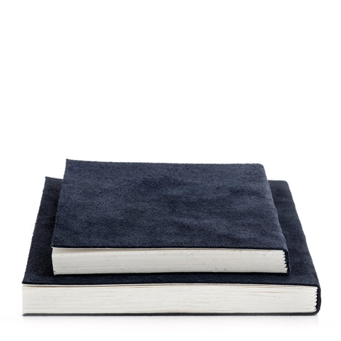 Nordstjerne suede notebooks blue, medium