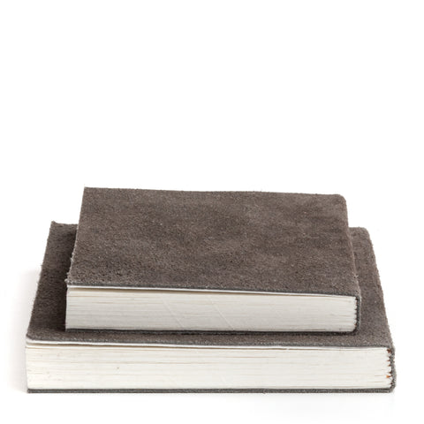 Nordstjerne suede notebook grey, medium