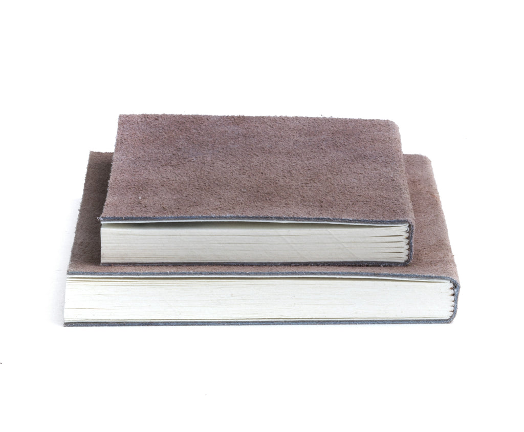 Nordstjerne suede notebooks pale rose, small