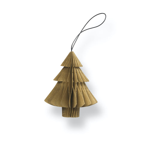Nordstjerne Sustain Folded Ornament Tree, Camel