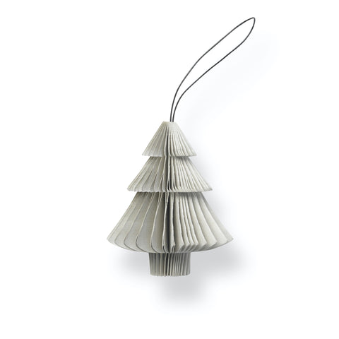 Nordstjerne Sustain Folded Ornament Tree, Nude Grey
