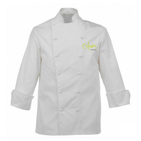 Scholar Chefs Jacket With Embroidered Logo