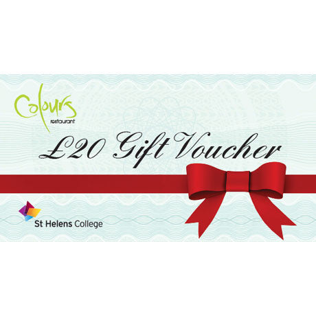 Gift Voucher for Colours Restaurant