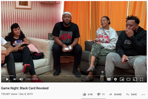 KevOnStage plays Black Card Revoked