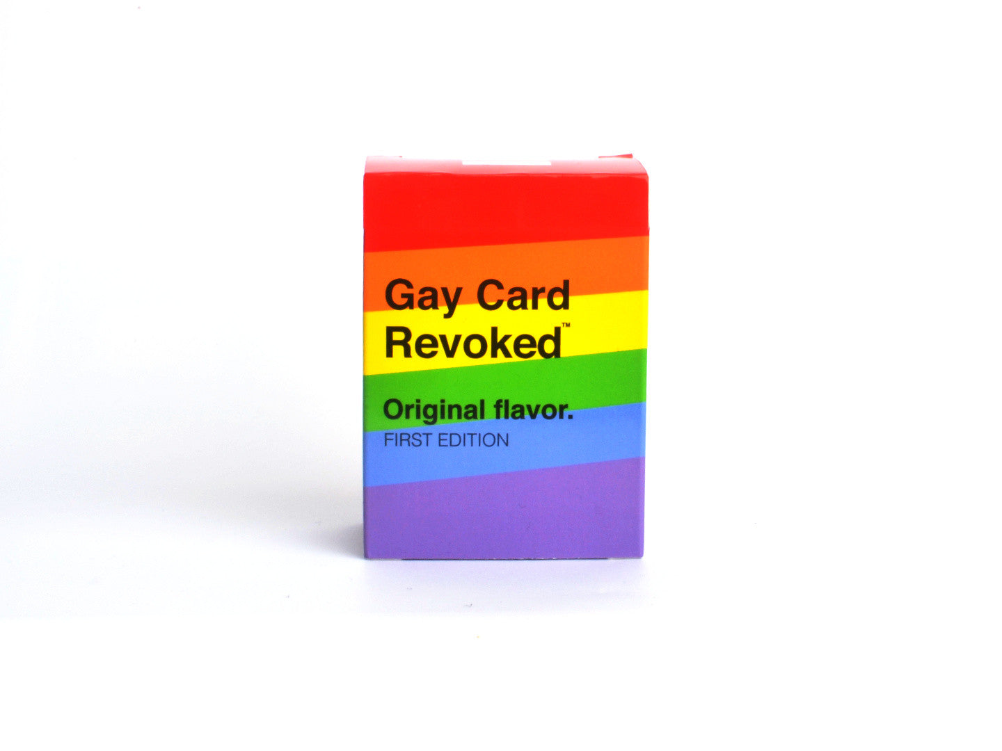 Gay Card Revoked - Original Flavor