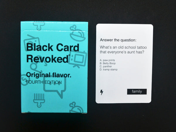 Black Card Revoked - Fourth Edition