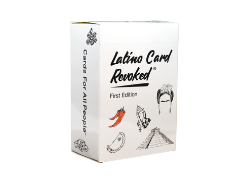 Latino Card Revoked - First Edition [PRE-ORDER]