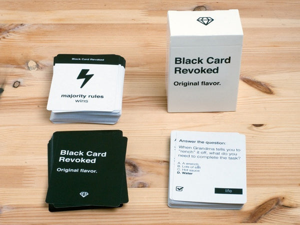 Black Card Revoked - First Edition