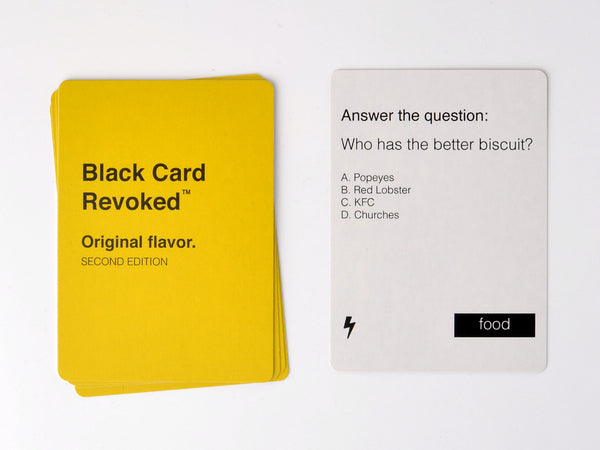 Black Card Revoked - Second Edition