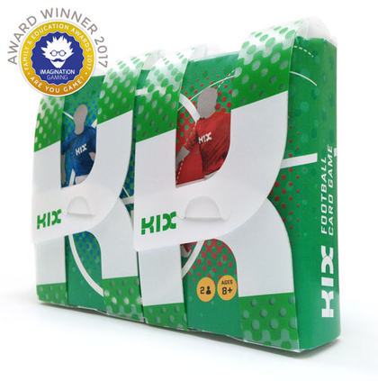 KIX football card game