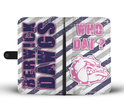 Berwick Dawgs 2 Wallet / Phone Case (Pink)