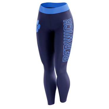 Lt Blue Berwick Leggings-Leggings-The Ink Freak