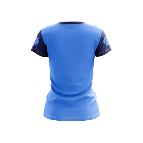 Lt Blue Berwick V-Neck-The Ink Freak