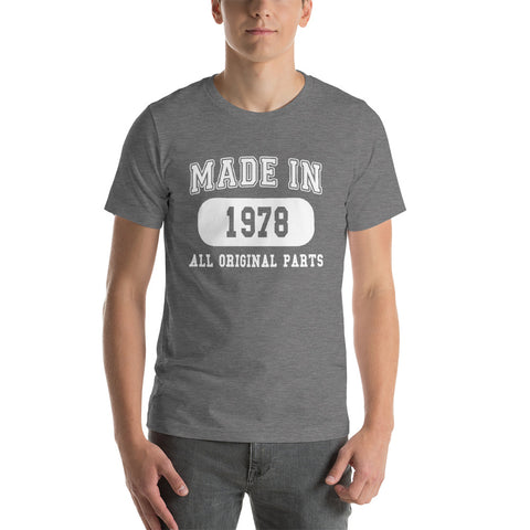 Made In 1978 Short-Sleeve T-Shirt