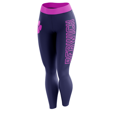 Pink Berwick Leggings-Leggings-The Ink Freak