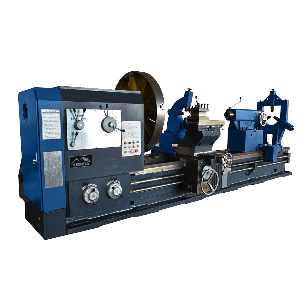 Heavy Duty Lathe Sierra Tda 1600x3000 With 8t Turning Reversing A Machine Tools 8 Ton Capacity Left View