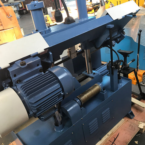 Sierra Machine Tools BC-200 Column Type Semi-auto bandsaw motor