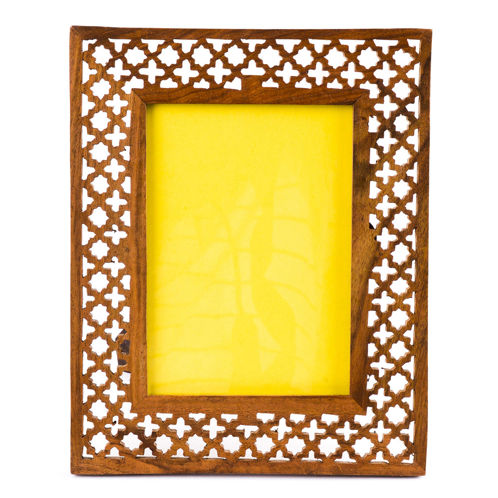 Rusticity Wooden Picture Frame | Handmade | (7x5in)