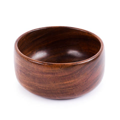 Rusticity Wood Serving Bowl - Small | Handmade | (4 inch)