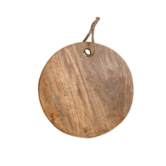 Rusticity Wooden Chopping / Cutting Board / Serving Tray - Round | Handmade | (13 in)