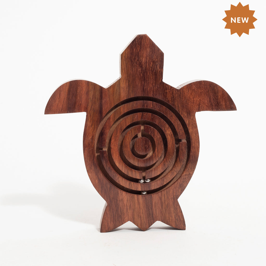 Rusticity Wooden Labrynth Puzzle Game - Bird Shape| Handmade | (5.6 x 5.5 x 0.6 in)