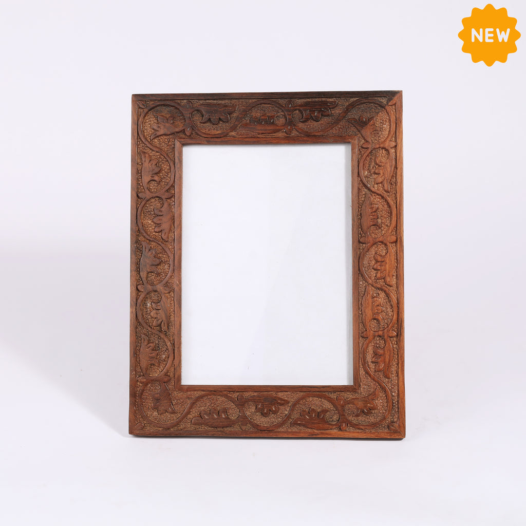 Rusticity® Wooden Photo Frame/Picture Frame - Table Top |Sheesham (Indian Sheesham )| Handmade| (10x8x0.5 in)