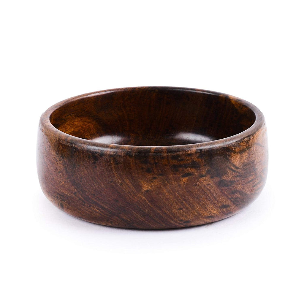 Rusticity Wood Serving Bowl - Small | Handmade | (5 inch)