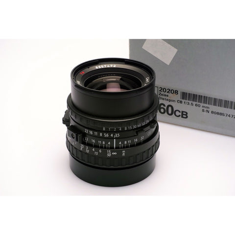 Hasselblad 60mm F3.5 CB Distagon lens