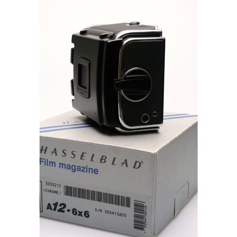 Hasselblad Chrome late type A12