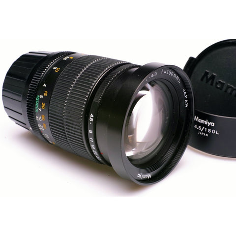 Mamiya 150mm F4.5 G lens for Mamiya 6 etc  inc hood
