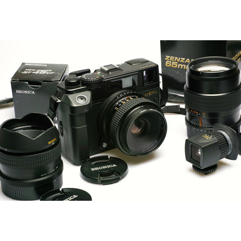 Bronica RF645 Camera and Lens Kit NEAR MINT