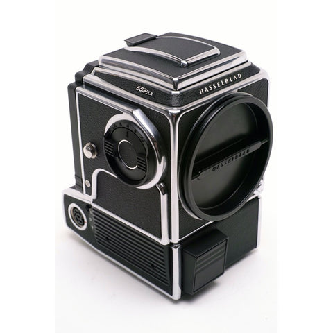 Hasselblad 553 ELX Chrome body with wlf and grid acute matte screen