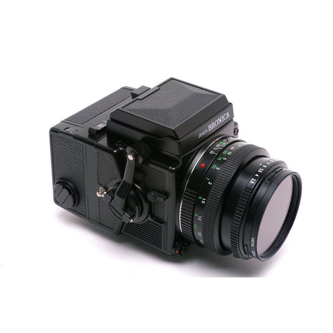 Bronica ETRSi  complete with 75mm f2.8 PE lens