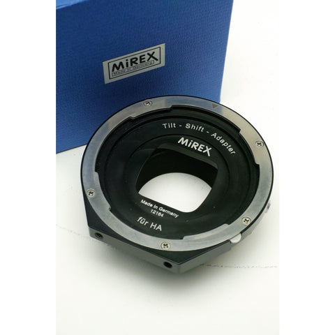 Mirex Tilt Shift adaptor for Hasselblad V lens to Nikon F