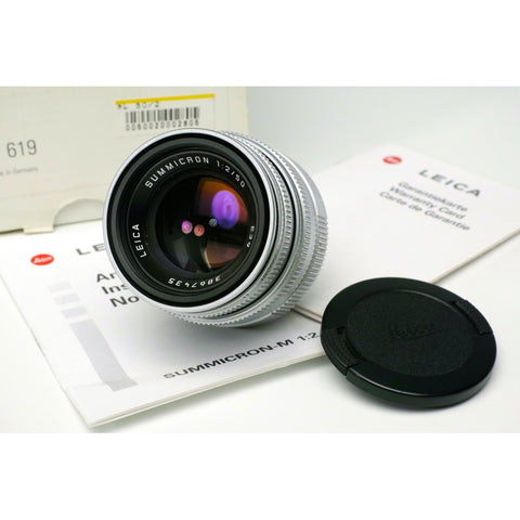 Leica Summicron F2 50mm M39 screw thread lens