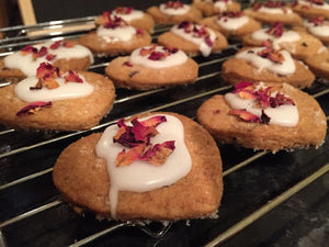 Recipe | Rose Petal Shortbread Biscuits & Tea