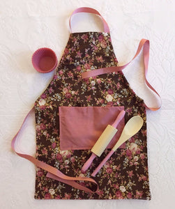 Children's Baking Kits Featuring An Apron-Tote Bag