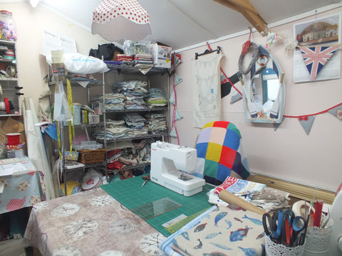 Karen Davey workspace