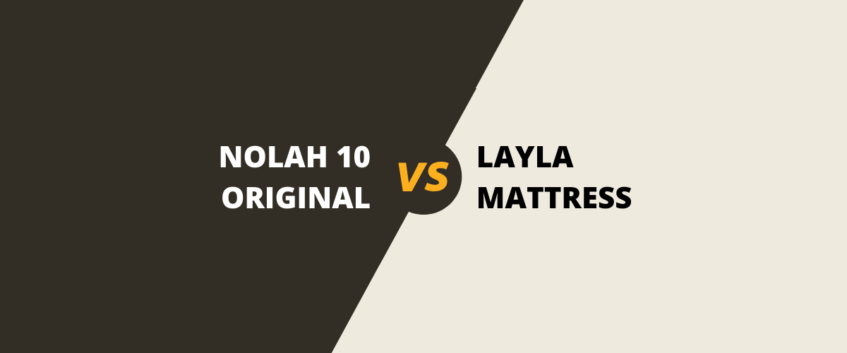 The Nolah Original 10 Vs Layla Memory Foam Mattress