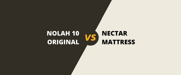 The Nolah Original 10 Vs The Nectar Memory Foam Mattress