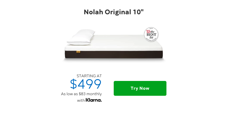 Nolah Original 10 Mattrss vs The Purple Mattress