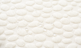 Close up with water on organic cotton mattress protector