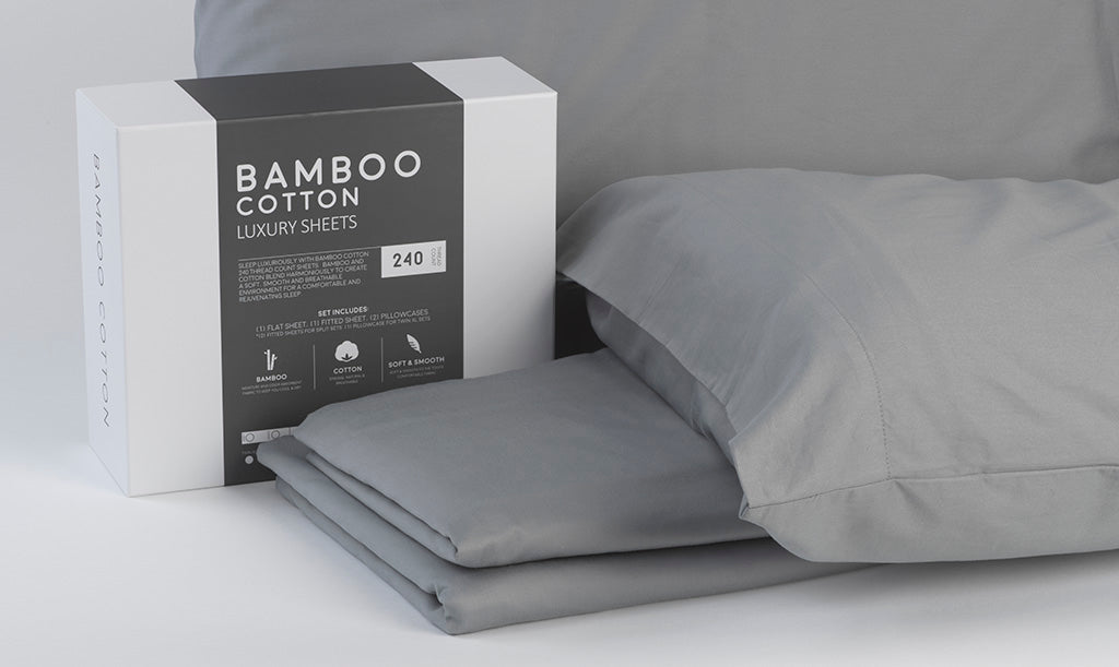 Bed sheets made from bamboo