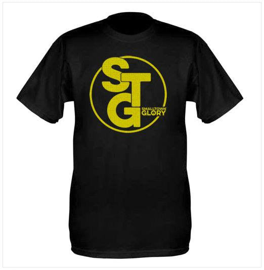 Short Sleeve STG T-Shirt - Black with Gold STG logo