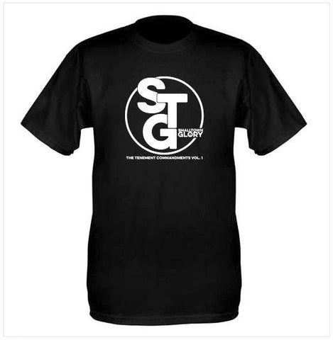 Short Sleeve STG T-Shirt - Black with White STG logo
