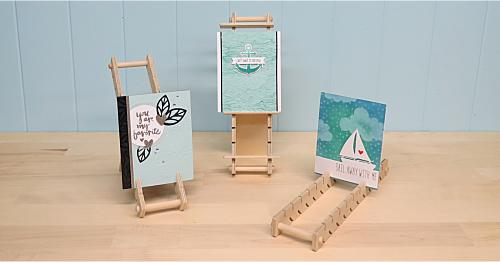 we are so excited about the new three way card racks and want to show you how easy it can be to assemble arent these perfect for classes crops - Card Rack