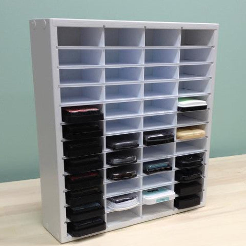 "Main front view photo of the 48 Ink Organizer (up to 3.25"" wide pads) for Distress Ink Pad"
