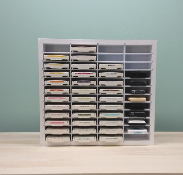 ... Shows st& pads organized in a craft shelf; Ink pad storage ... & 48 Ink Pad Organizer - OrganizeMore