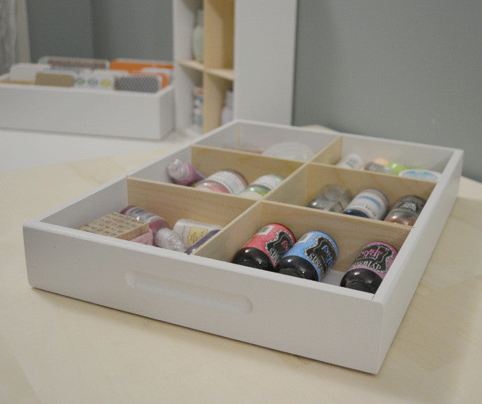 6 Cubby Drawer Caddy